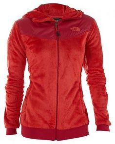 North Face Oso Hoodie Womens C660-Q1C Rambutan Pink Silken Fleece Jacket Size M