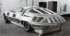 Chevrolet Corvair Testudo (Bertone), 1963 - Buck for panel beating
