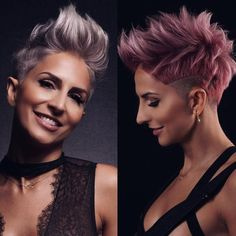 Latest Short Hairstyles for Women 2019 - - Short Hairstyles - Hairstyles 2019 Latest short hairstyles provide style and freshness, also in We have the most beautiful short hairstyles of the stars, from the catwalks and of course the Latest Short Hairstyles, Short Pixie Haircuts, Cute Hairstyles For Short Hair, Box Braids Hairstyles, Curly Hair Styles, Hairstyle Ideas, Hair Ideas, Bob Haircuts, Hairstyles 2016
