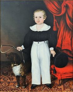 Joseph Whiting Stock (American artist, 1815–1855) Presumably Porter Whipple, Age 5.