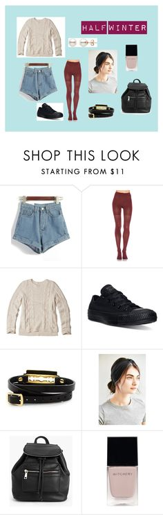 """""""Half Winter"""" by generamos on Polyvore featuring moda, SPANX, Hollister Co., Converse, McQ by Alexander McQueen, Urban Outfitters, Boohoo y Witchery"""