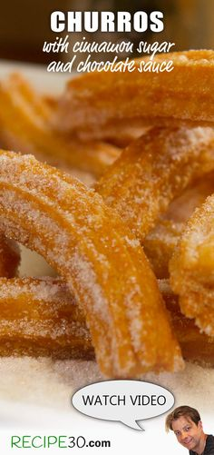 This recipe to me is the best Churros recipe because it's soft and moist on the inside and super crunchy on the outside. It still has a certain amount of chew as a Churros should have.