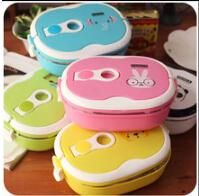 Stainless Steel Thermal Insulated Bento Lunch Box For Kids Portable Lunchbox Food Container Tableware Light Blue Dinnerware Sets Light Dinnerware Sets From Luckly201011, $15.68| Dhgate.Com