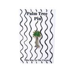Palm Tree Enamel Pin
