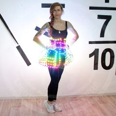 Smart Led Light Up Sexy Cage Corset Costume Butterfly (975 AUD) ❤ liked on 00b06ef73