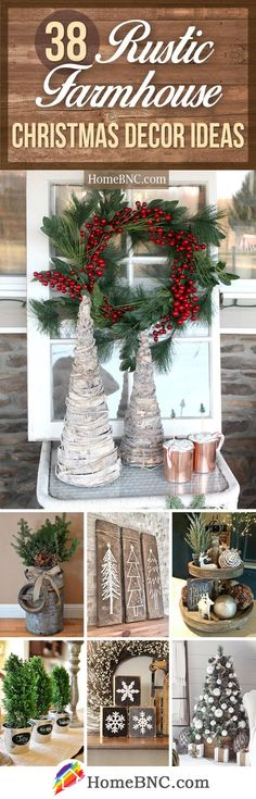 Rustic Farmhouse Christmas Design Ideas