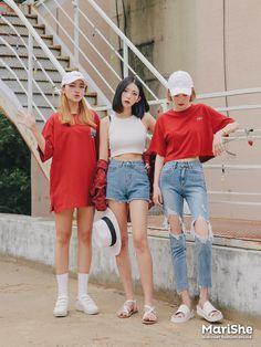 Mi end may bi ef ef Korean Girl Fashion, Korean Fashion Trends, Ulzzang Fashion, Korean Street Fashion, Korea Fashion, Pop Fashion, Cute Fashion, Asian Fashion, Japanese Fashion