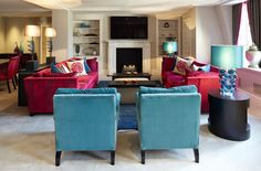 Savoy Apartments - Concept Console Table, Custom Cylin Side Tables, Westow Coffee Table