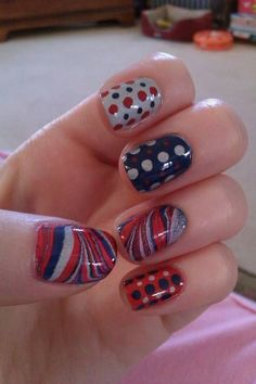 50 Fresh Patriots Art Nails For Your Beautiful Hands