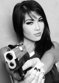 pinterest.com/fra411 Girls and Gun