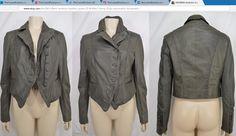 MUUBAA lambskin leather jacket SZ 8 Moss Army Gray asymmetric buttoned ~ http://stores.ebay.com/thecurrentfashion?_dmd=2&_nkw=leather , http://stores.ebay.com/thecurrentfashion/Outerwear-/_i.html?_fsub=7072404012 | #TheCurrentFashion #style #fashion #eBay #eBayFashion #Muubaa #Muubaajacket #MuubaaLondon #jacket #jackets #lambskin #leatherjacket #leatherjackets #buttonedjacket #linedjacket #AW17 #SS17 #outerwear #nolifetilleather #womensfashion #womensstyle #womenswear #womensjacket #shopping