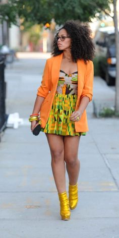 blazer dress Elle Varner is so damn fabulous!