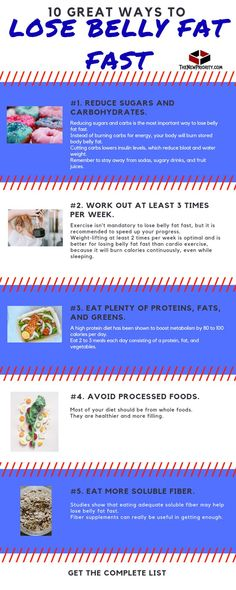 10 Great Ways To Lose Belly Fat Fast – TheNewPriority Source by thenewpriority Belly Fat Diet, Lose Belly Fat, Lower Belly, Lose Fat, Reduce Weight, How To Lose Weight Fast, Loose Weight, Body Weight, Weight Loss Program