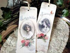 Lesezeichen von White Roses auf DaWanda.com