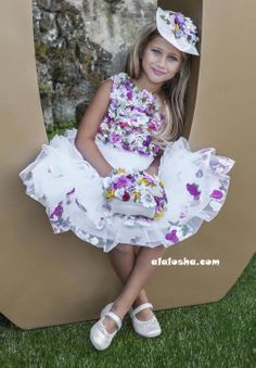 ALALOSHA: VOGUE ENFANTS: LESY the luxury GIRLSWEAR brand SS'14