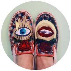 Pimp my Vans ! Scarpe personalizzate ... | Clorophilla Clorophillas | Depop