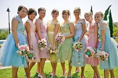 Vintage Wedding Bridesmaid Dresses