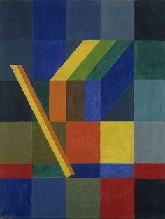 Space Composition, I  Johannes Itten (Swiss, 1888-1967)    1944