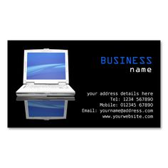 425 Best Computer Business Card Templates Images On Pinterest