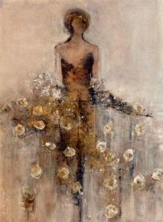 "'Cybele' (Goddess of the Mountains""Artist - Felice Sharp. Mixed media."