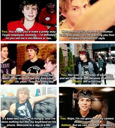 You're a famous youtuber and going on tour with your boyfriend, Ashton