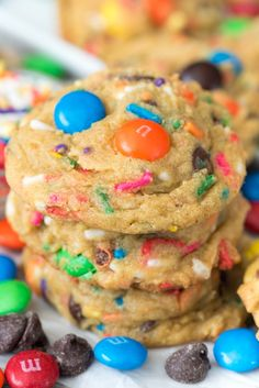 Celebration Pudding Cookies - Crazy for Crust