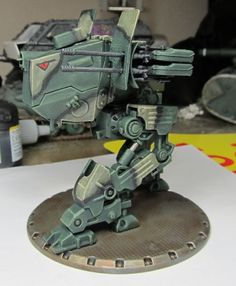 Painted DUST Tactics mech by Durnstaros.deviantart.com on @DeviantArt