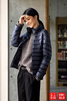 The Ultra Light Down Jacket from Uniqlo is the perfect all-season jacket. Lightweight, comfortable, water-repellant and warm—it's even great for layering under an overcoat. Available in a range of colors, find your favorite: http://uniqlo.us/2eCJsyL