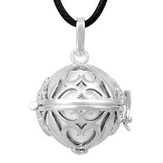 Eudora Harmony Ball Maternity Women Long Chain Necklace 35