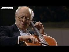 Mstislav Rostropovich - Tchaikovsky's Andante Cantabile - YouTube