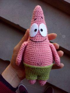 Receita Original:World of Amigurumi Minion Crochet Patterns, Disney Crochet Patterns, Octopus Crochet Pattern, Crochet Disney, Amigurumi Patterns, Kawaii Crochet, Cute Crochet, Crochet Crafts, Crochet Dolls