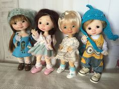 My personal collection dolls...