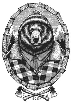 Bear on Behance