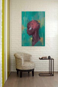 Amaryllis by Alexander Grahovsky Canvas Print on @HauteLook