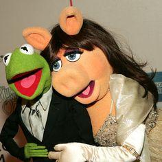 miss piggy & kermit glam