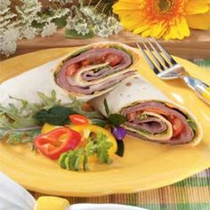 Roast Beef Tortilla Wraps