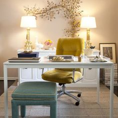 Home Office White Glass Table Grey Design, Pictures, Remodel, Decor and Ideas - page 8