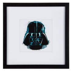 Darth Vader Star Wars Black Frame Gallery Art⎜Open Road Brands