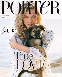 Karlie Kloss - Porter #8, Summer 2015