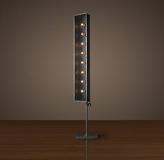 royal master sealight floor lamp - aged steel, floor lamp from
