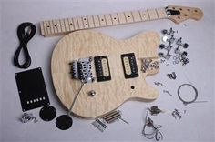 Build Your Own Electric Guitar Kit - EVH Style