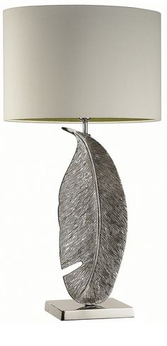 Silver Table Lamp InStyle-Decor.com