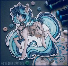 For ParallelWave Scanned ver - art by me character belongs to ParallelWave COMM : ParallelWave Mlp My Little Pony, My Little Pony Friendship, My Little Pony Drawing, Mlp Fan Art, My Little Pony Pictures, Pony Horse, Mlp Pony, Unicorn Art, Furry Art