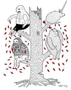 Illustrator Michael Hsiung