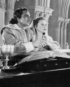 "Gene Kelly and June Allyson as D'Artagnan and Constance in ""The Three Musketeers"" (1948) directed by George Sidney"