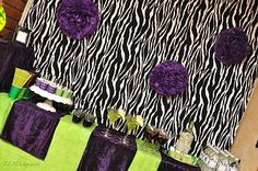 EEAD G 02 A Zebra Party  For Adults Only!