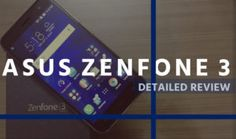 Asus Zenfone 3 Review: Performance Carved into Luxury Design