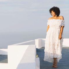 gabi fresh white dress