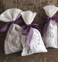 5 minute no-sew lavender satchets from lace // Levendula illatzsákok csipkéből varrás nélkül // Mindy - craft tutorial collection // #crafts #DIY #craftTutorial #tutorial #FlowerCrafts #FlowerDecor
