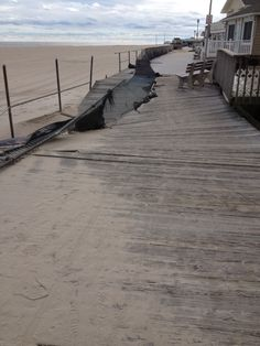 Superstorm Sandy, Point Pleasant Beach Boardwalk, NJ